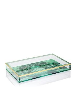 Spectrum Spectrum Malachite Acrylic Tray Picture
