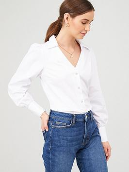 v-by-very-staple-cotton-white-shirt