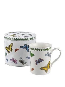 Portmeirion Portmeirion Botanic Garden Harmony Butterfly Mug And Tin Set Picture
