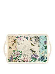 pimpernel-hummingbird-melamine-serving-tray