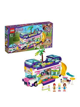 LEGO Friends Lego Friends 41395 Friendship Bus With Swimming Pool And Slide Picture