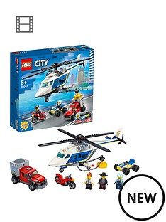 lego-city-60243-police-helicopter-chase-with-atv-motorbike-and-truck