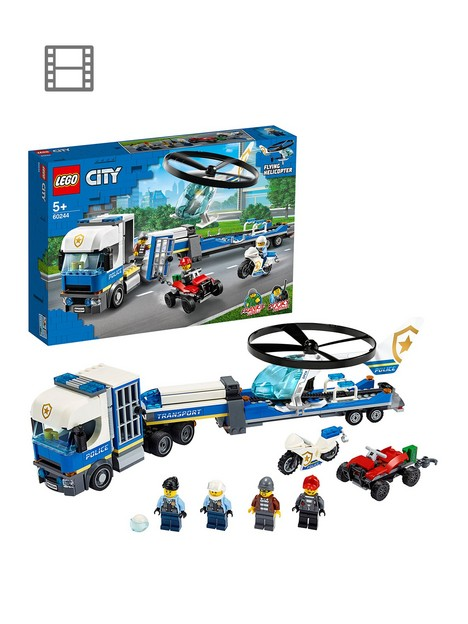 lego-city-60244-police-helicopter-transport-with-motorbike-and-truck