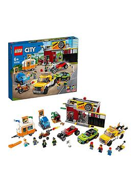 LEGO City Lego City 60258 Tuning Workshop With 6 Vehicles Picture