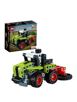 lego technic Lego Technic 42102 Mini Claas Xerion Tractor &Amp; Harvester  ... Picture