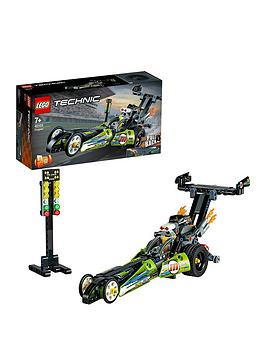lego technic Lego Technic 42103 Dragster Racing Car With Pull-Back Motor  ... Picture