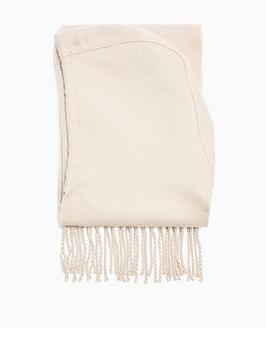 topshop-plain-hooded-scarf-oatmeal
