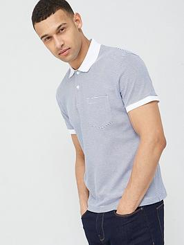 selected-homme-brighton-contrast-rib-polo-white