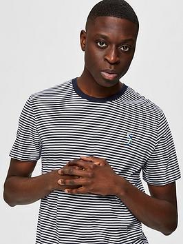 selected-homme-wayne-stripe-logo-t-shirt-navy