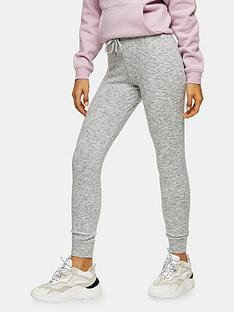 topshop-brushed-joggers-grey