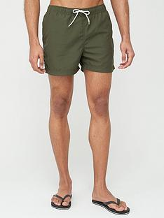 selected-homme-classic-swimshorts-green
