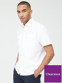 selected-homme-shadow-short-sleeve-shirt-white