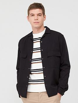 Selected Homme Selected Homme Luke Shirt Jacket - Black Picture