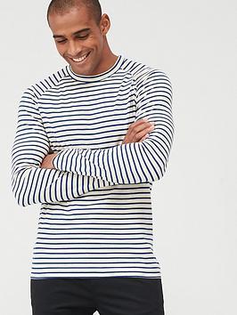 Selected Homme Selected Homme Selected Homme Tron Stripe Long Sleeve Tee Picture