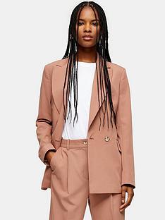 topshop-suit-blazer-pink