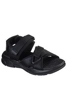 skechers-equaliser-40-strap-sandals-black