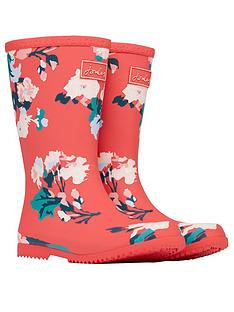 joules-girls-floral-roll-up-wellington-bootsnbsp--red