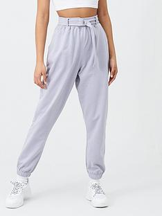 missguided-missguided-belted-joggers-lilac