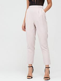 missguided-missguided-pleat-detail-cigarette-trousers-lilac