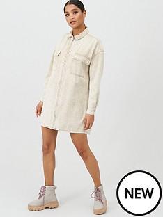 missguided-missguided-utility-pocket-zip-through-light-wash-denim-shirt-dress-stone