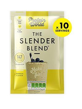 Protein World Slender Blend Sachet Box - Vanilla (10X40G)
