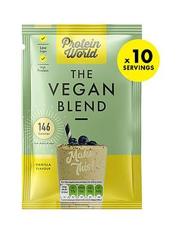 Protein World Protein World Vegan Blend Sachet Box - Vanilla (10X40G) Picture