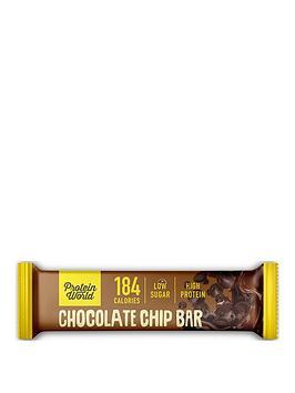 Protein World Protein World Slender Blend Bar - Chocolate Chip (10X50G) Picture