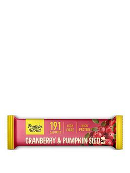 Protein World  Slender Blend Bar - Pumpkin & Cranberry (10X50G)