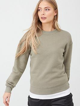 V by Very V By Very The Essential Basic Sweat - Khaki Picture