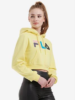 Fila Fila Jil Crop Hoodie - Yellow Picture
