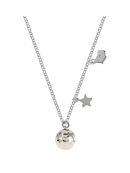 radley-radley-sterling-silver-and-rose-gold-tone-star-orb-and-dog-pendant-ladies-necklace