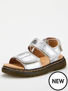 dr-martens-girls-metallic-romi-sandal-silver