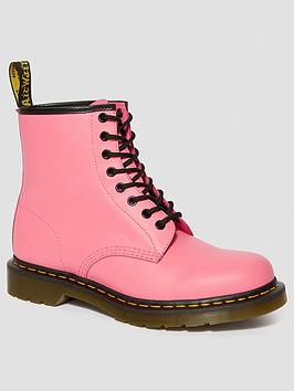 Dr Martens Dr Martens 1460 8 Eye Ankle Boot - Pink Picture