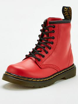Dr Martens Dr Martens Childrens 1460 8 Lace Boot - Red Picture