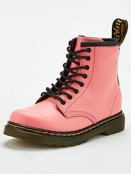 Dr Martens Dr Martens Girls 1460 8 Lace Boot - Pink Picture