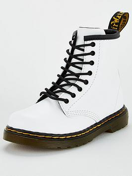 Dr Martens Dr Martens Childrens 1460 8 Lace Boot - White Picture