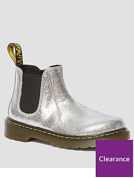 dr-martens-girls-metallic-chelsea-boots-silver