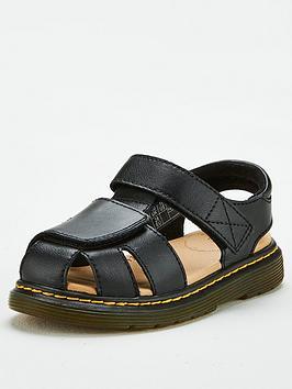 Dr Martens Dr Martens Childrens Moby Il Sandal - Black Picture