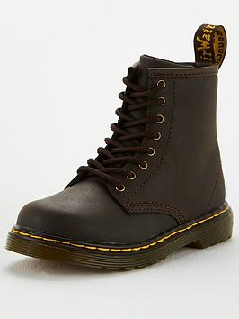 Dr Martens Dr Martens Childrens 1460 8 Lace Boot - Brown Picture