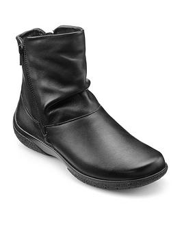Hotter Hotter Hotter Whisper Wide Fit Casual Boots With Warm Lining Picture