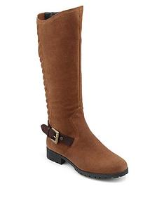 hotter-hotter-sandringham-knee-length-boots-with-stretch-panel