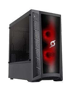 zoostorm-stormforce-onyx-athlon-3000gnbsp8gb-ramnbsp2tb-hard-drive-gaming-pc-black