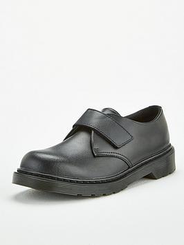 Dr Martens Dr Martens Kamron Boys Strap Shoe - Black Picture
