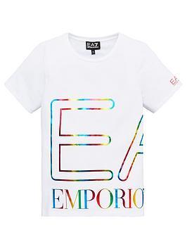 ea7-emporio-armani-girls-short-sleeve-large-metallic-logo-t-shirt-white