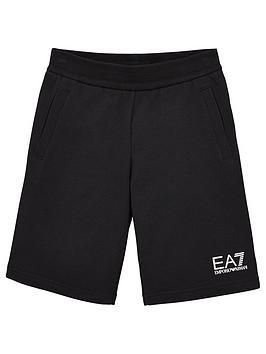 EA7 Emporio Armani Ea7 Emporio Armani Boys Classic Short - Black Picture