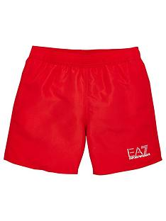ea7-emporio-armani-boys-classic-logo-swim-shorts-red