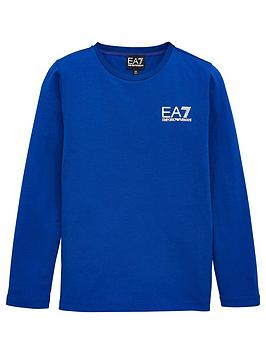 EA7 Emporio Armani Ea7 Emporio Armani Boys Classic Long Sleeve T-Shirt -  ... Picture