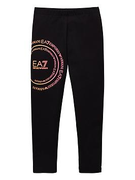 ea7-emporio-armani-girls-rainbow-logo-leggings-black