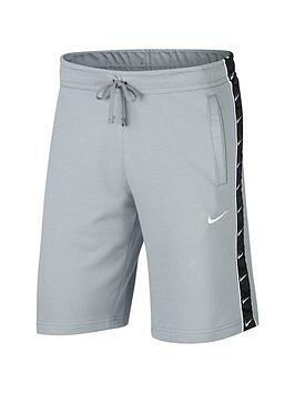 Nike Nike Sportswear Swoosh Fleece Shorts - Grey/Black Picture