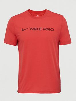 Nike Nike Pro Dry T-Shirt - Red Picture